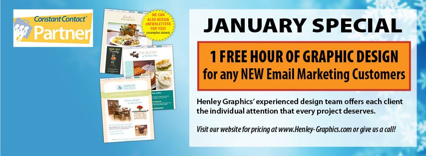 Monthly Web Special for January