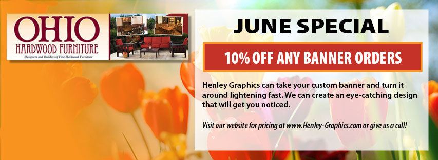 June Special - Banners 10% off