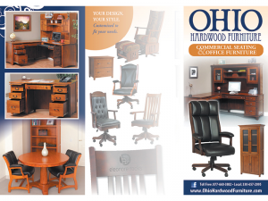 Ohio Hardwood Furniture Brochure