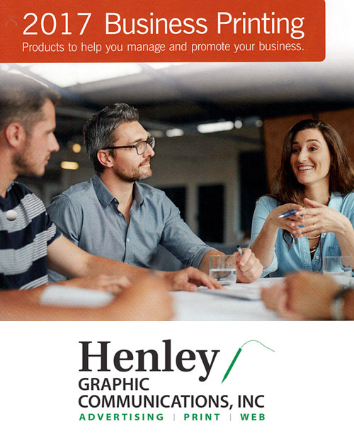 Henley Graphics 2017 Business Forms Catalog