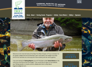 Clear Fork River Trout Unlimited Website