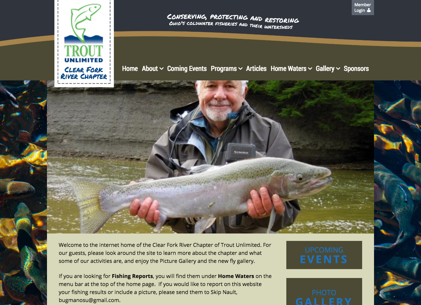 Trout Unlimited Website