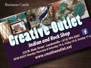 Creative Outlet Business Cards